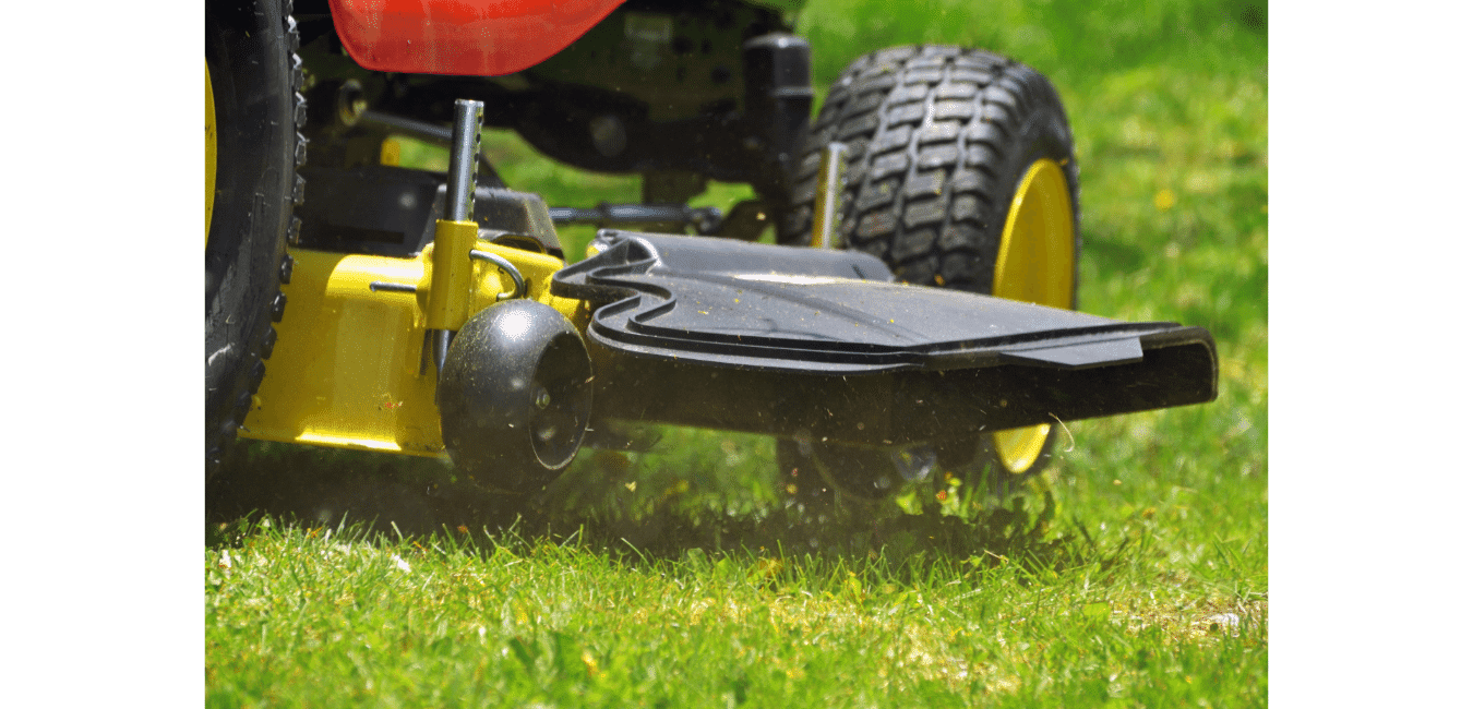 Lawn Mower Side Discharge